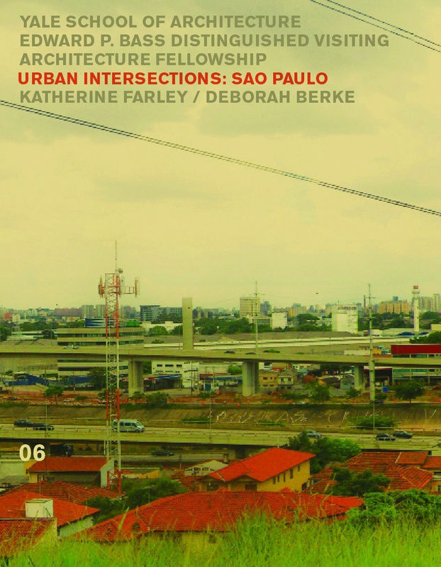 """Cover of """"Urban Intersections: Sao Paulo"""" book."""