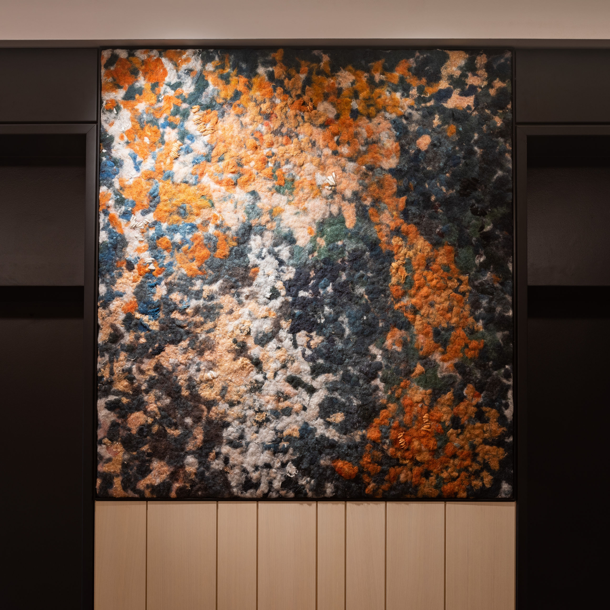 Wallace Foundation Art in Elevator Bank